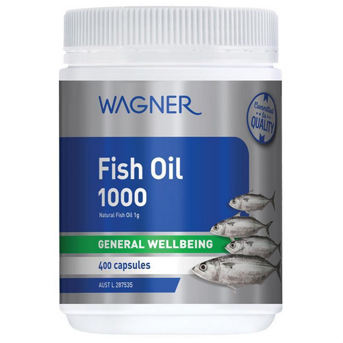 Dầu cá Wagner Fish Oil 1000 400 Capsules