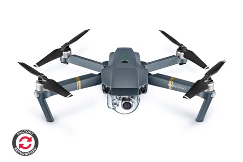 DJI Mavic Pro Drone - Official DJI Refurbished Drone
