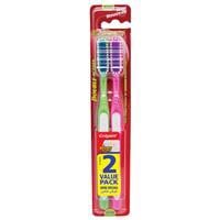 Colgate Medium Toothbrush Extra Large Brush Head 2 Pack