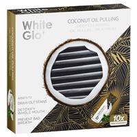 White Glo Coconut Oil Pulling Sachets 10 Pack Online Only