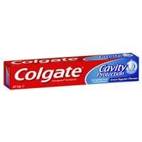 Colgate Cavity Protection Great Regular Flavour Fluoride Toothpaste with liquid calcium 120g