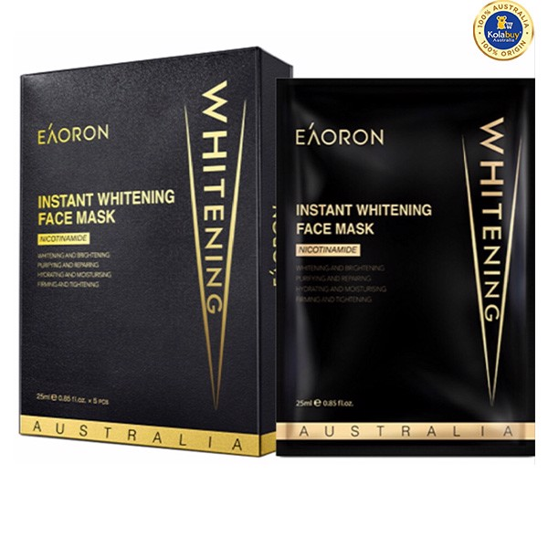 Mặt nạ dưỡng trắng da Eaoron Instant Whitening Face Mask 25ml 5 miếng