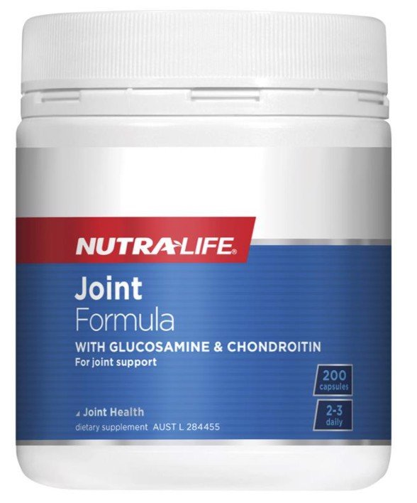 Nutra-Life Joint Formula 200 Capsules