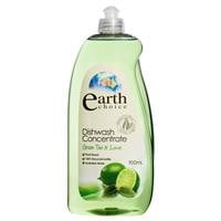 Earth Choice Dishwash Concentrate Green Tea 900ml