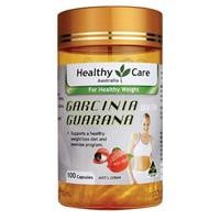 Healthy Care Garcinia with Guarana 100 Capsules