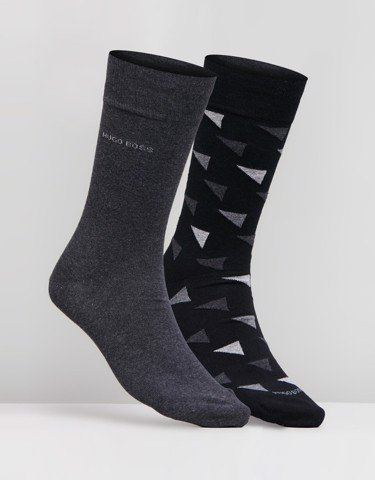 2-Pack Cotton Blend Regular Length Socks