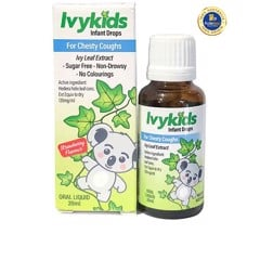 Tinh chất trị ho cho bé Ivykids Infant Drops For Chesty Cough 20ml