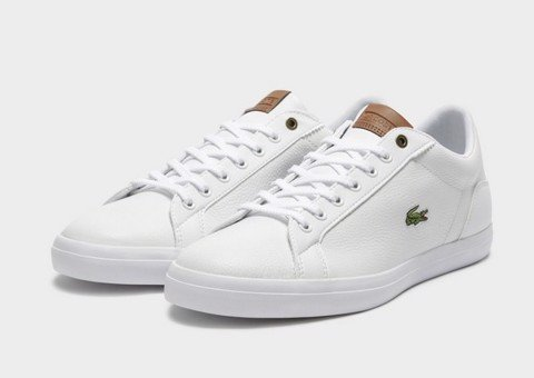 Giày Lacoste Men's Lerond 419 6 JD CMA Sneakers - White/Brown
