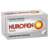 Nurofen Ibuprofen Pain Relief Tablets 200mg 96 Pack