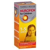 Nurofen for Children 1-5 Years Strawberry 200mL