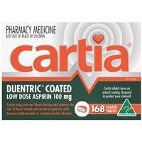 Cartia 100mg Tablets 168