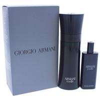 Armani Code for Men Eau de Toilette 75ml Spray + 15ml 2 Piece Set