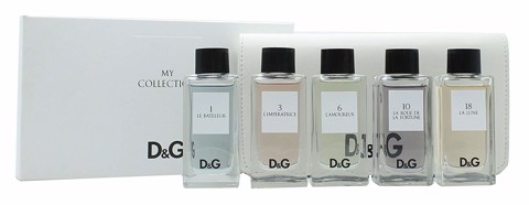 Dolce & Gabbana Anthology Collection 5 Piece Mini Set