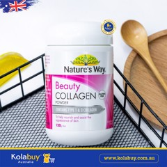 Collagen dạng bột Nature's Way Beauty Collagen Powder 120g