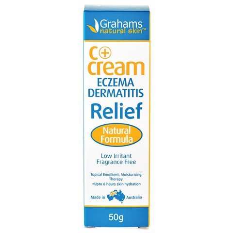 Grahams C + Eczema & Dermatitis Cream 50g