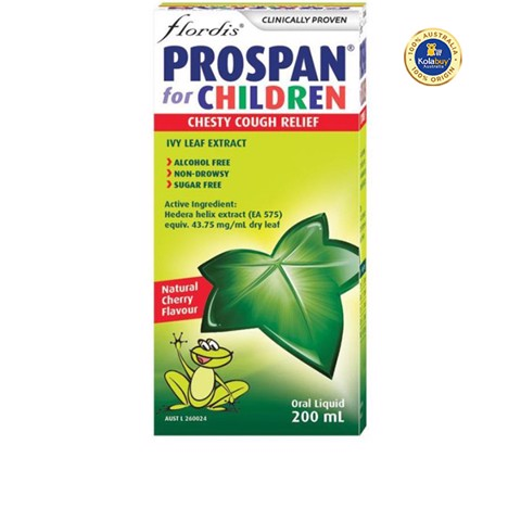 Siro trị ho Prospan Chesty Cough Children's (Ivy Leaf) 200ml