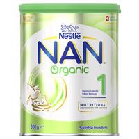 NAN Organic Infant Formula Step 1 800g