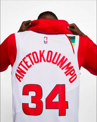 Giannis Antetokounmpo Earned City Edition Swingman (Milwaukee Bucks)