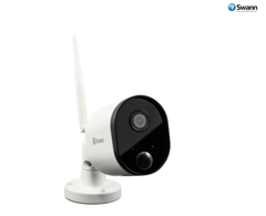 Swann 1080p Full HD Wi-Fi Outdoor Security Camera with Audio, Night Vision, Local & Cloud Storage (SWWHD-OUTCAM)