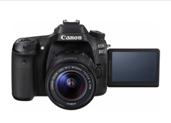 Canon EOS 80D DSLR Camera with EFS18-55mm ST Lens