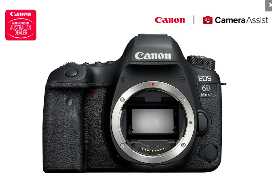 Canon EOS 6D Mark II DSLR Camera - Body only
