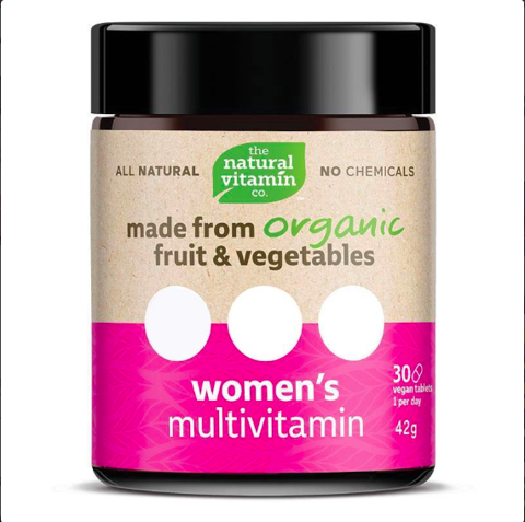 The Natural Vitamin Co Womens Multivitamin 30 Tablets