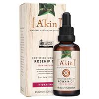 A'kin Certified Organic Rosehip Oil 45ml