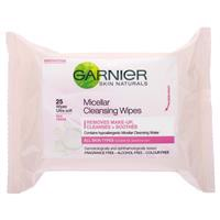 Garnier Micellar Cleansing Wipes 25