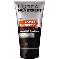 L'Oreal Men Expert Black Foam Magnetic Charcoal Wash 150ml