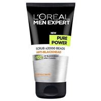 L'Oreal Men Expert Pure Power Scrub 150ml