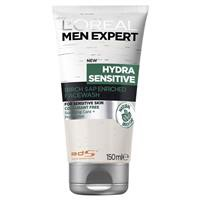 L'Oreal Men Expert Hydra Sensitive Cleanser 150 ml