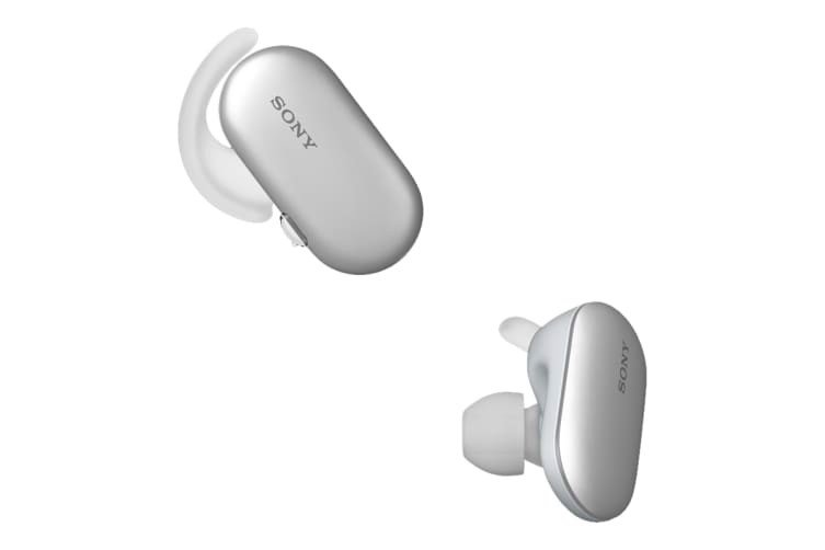 Sony Truly Wireless Waterproof Sports Headphones With 4GB Music Storage - White (WF-SP900W)
