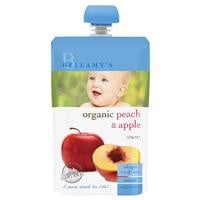 Bellamys Organic Grape, Peach & Apple 120g