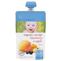 Bellamy's Organic Mango Blueberry and Apple 120g