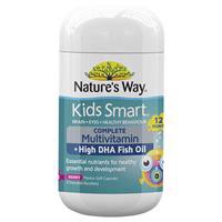 Nature's Way Kids Smart Complete Multivitamin 50 Chewable Capsules