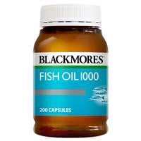 Blackmores Fish Oil 1000mg 200 Capsules