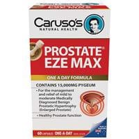 Carusos Natural Health Prostate Eze Max 60 Capsules
