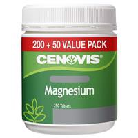 Cenovis Magnesium Value Pack 250 Tablets Exclusive