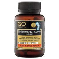 GO Healthy Turmeric 16000+ 1 A Day 60 Capsules