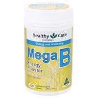 Healthy Care Mega B 200 Tablets