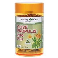 Healthy Care Olive Propolis 2500 Plus 180 Capsules