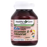 Healthy Care Kids Vitamin & Mineral Multi 60 Chewable Tablets