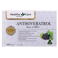 Healthy Care Anthoveratrol King of OPC 100 Tablets