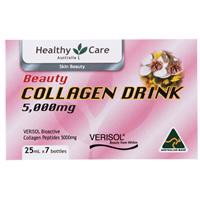 Healthy Care Beauty Collagen Drink 5000mg 25ml x 7 Bottles