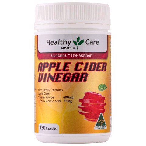 Healthy Care Apple Cider Vinegar Detox 120 Tablets