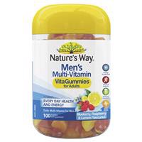 Nature's Way Vita Gummies Adult Mens Multivitamin 100