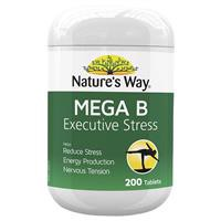 Nature's Way Mega B 200 Tablets