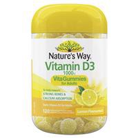 Nature's Way Vita Gummies for Adults Vitamin D 120 Pastilles