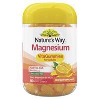 Nature's Way Vita Gummies Adult Magnesium 80 Gummies