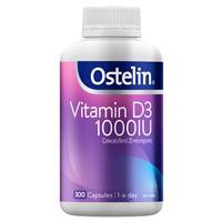 Ostelin Vitamin D3 1000IU 300 Capsules Exclusive Size